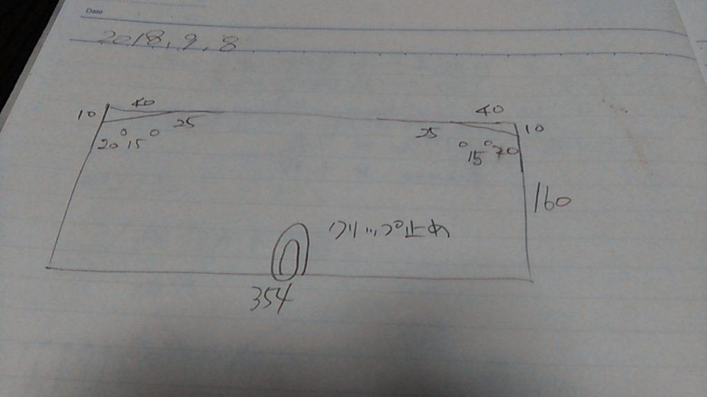 ポストふたの設計図
