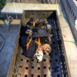 着火剤なしで木炭に火をつける方法を紹介します。簡単です!